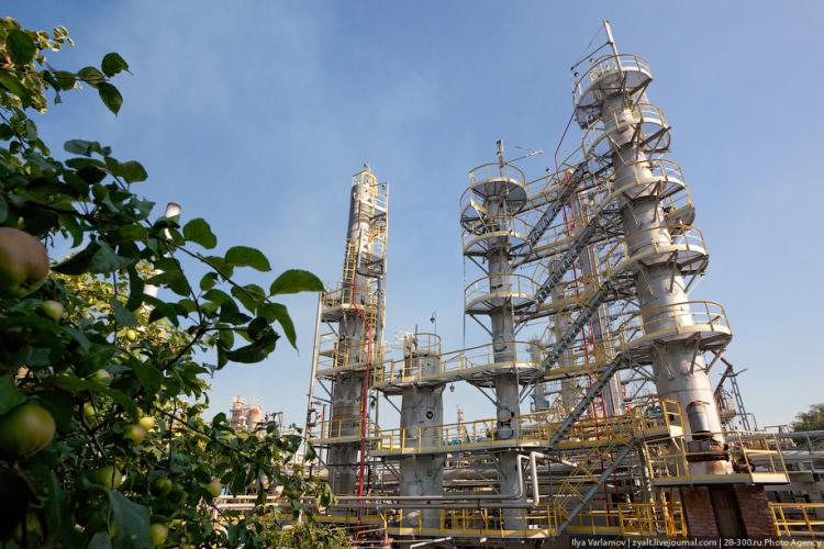Refinery in Moscow 16