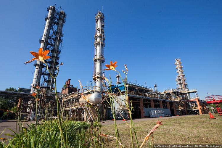 Refinery in Moscow 19