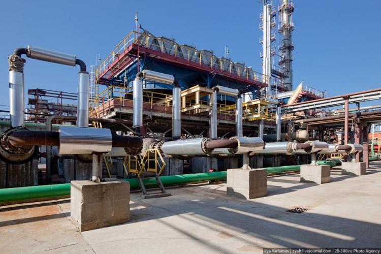 Refinery in Moscow 21