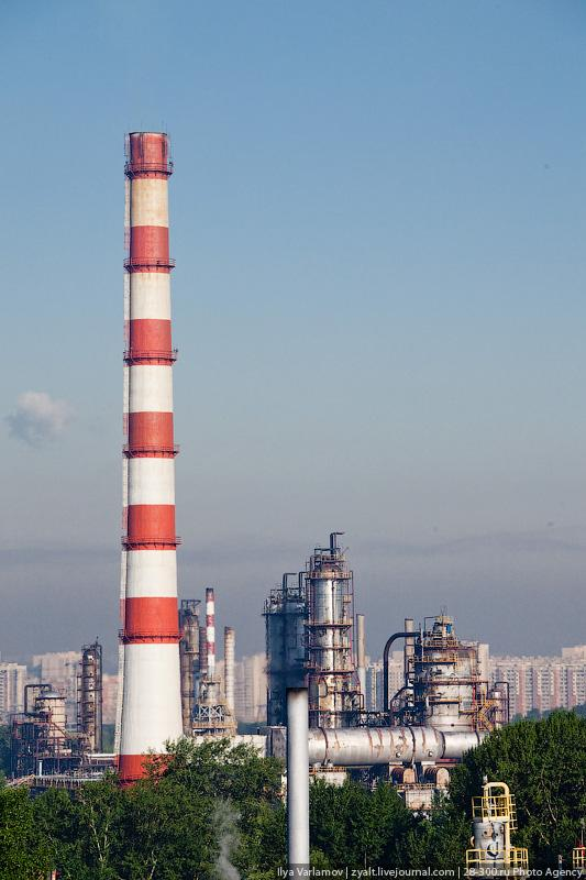 Refinery in Moscow 28