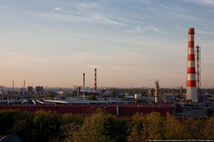 Refinery in Moscow 38