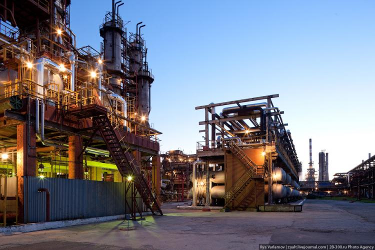 Refinery in Moscow 55