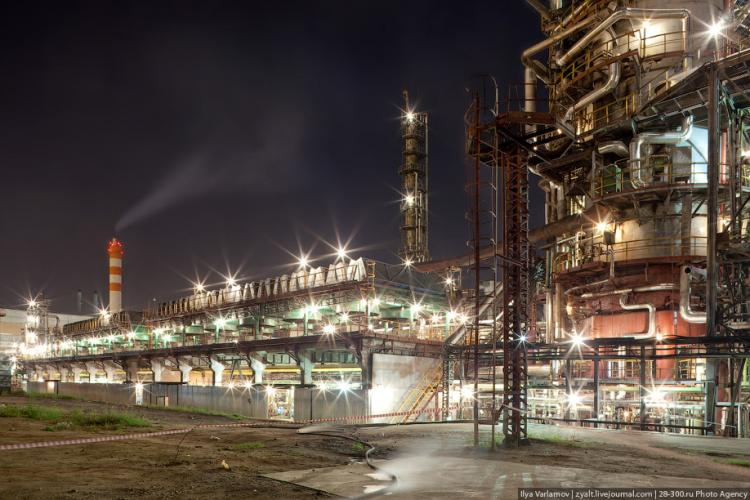 Refinery in Moscow 62