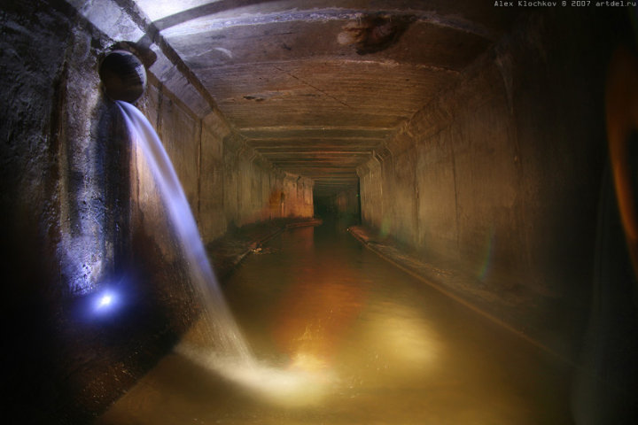 tunnels under Moscow in HDR 13