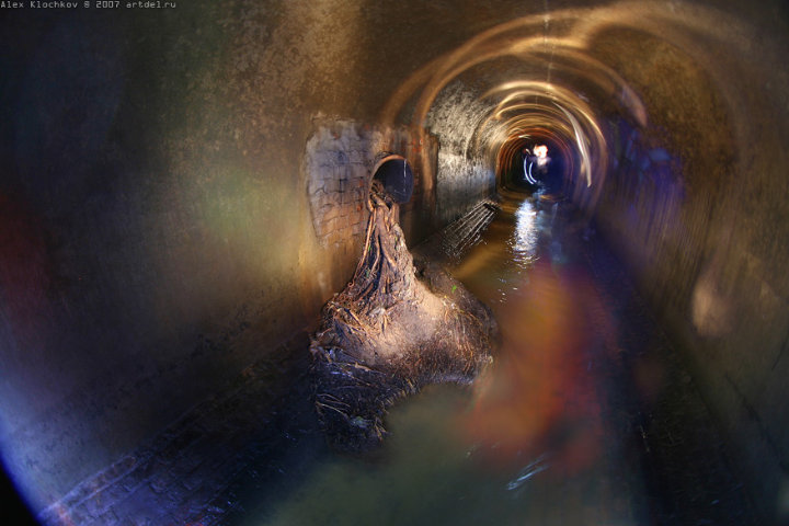 tunnels under Moscow in HDR 4