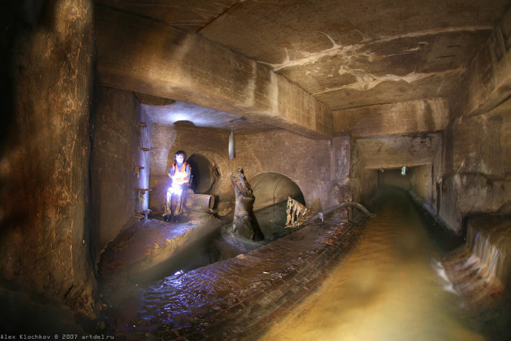 tunnels under Moscow in HDR 5