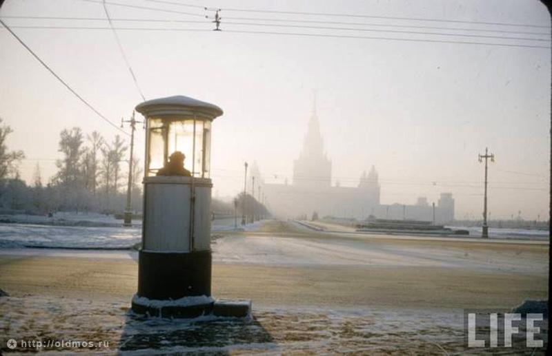 Moscow winter 32