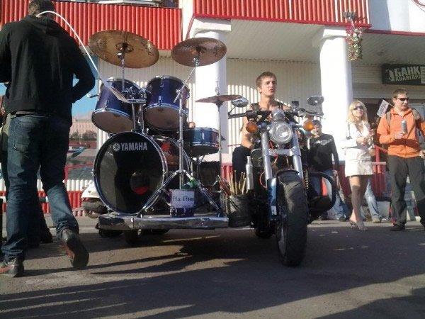 Russian moto drum 8
