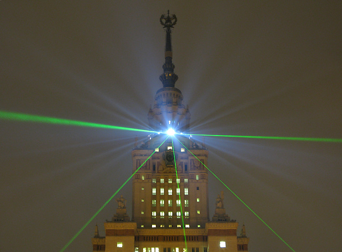 moscow state university at night  6