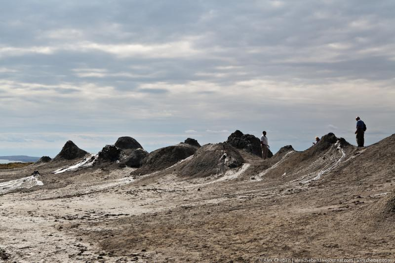 Mud Volcanoes Azerbaijann  11