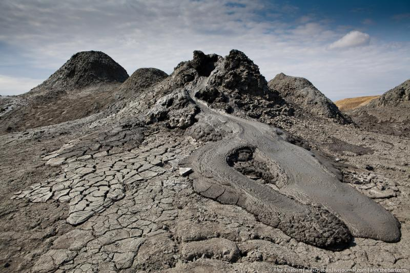 Mud Volcanoes Azerbaijann  12