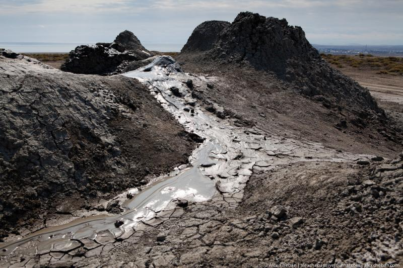 Mud Volcanoes Azerbaijann  3