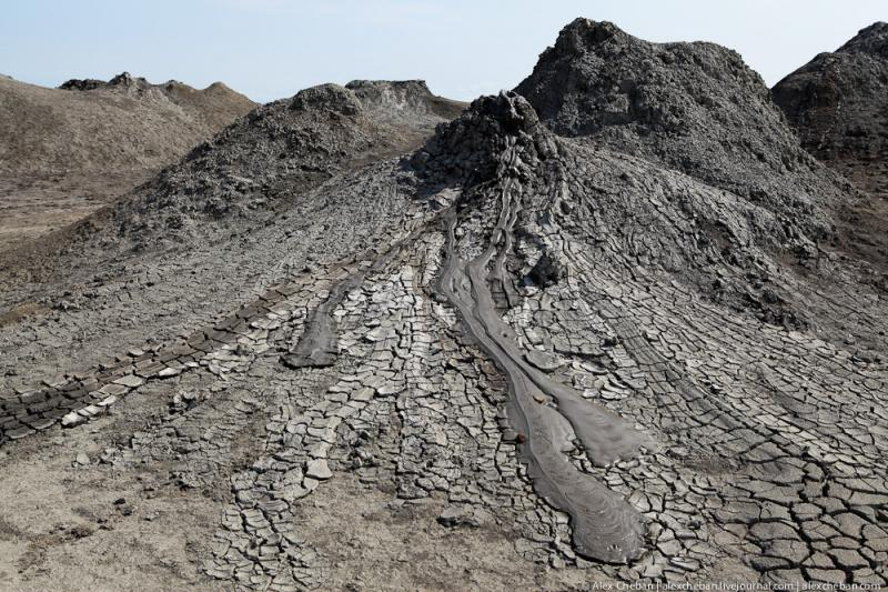 Mud Volcanoes Azerbaijann  4