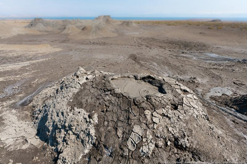Mud Volcanoes Azerbaijann  6