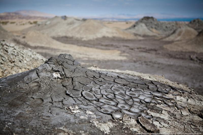 Mud Volcanoes Azerbaijann  9