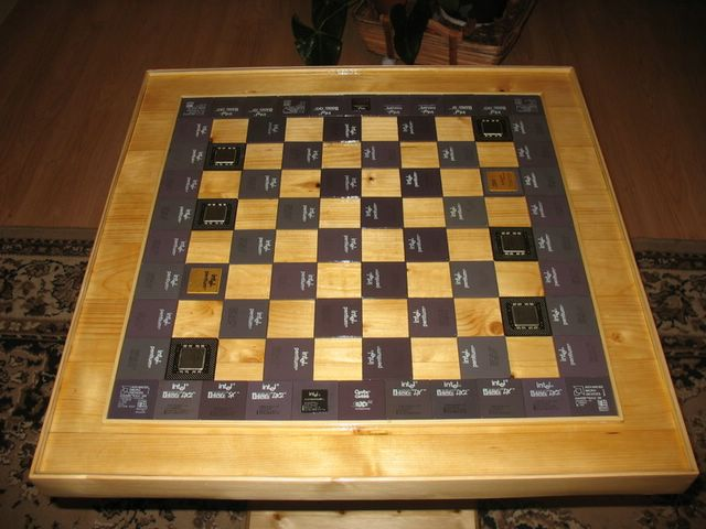 multiprocessor table