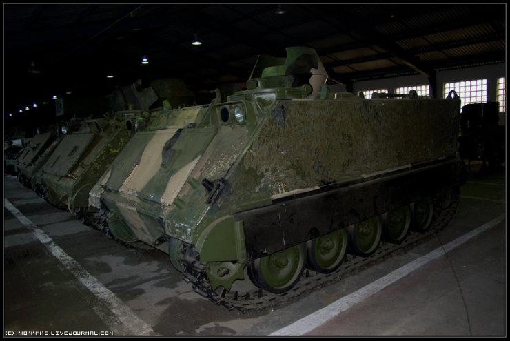 photos from Military-historical museum of  armored vehicles and armament of Main auto-tank directorate of Defense ministry of Russian Federation 14