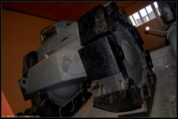 photos from Military-historical museum of  armored vehicles and armament of Main auto-tank directorate of Defense ministry of Russian Federation 15