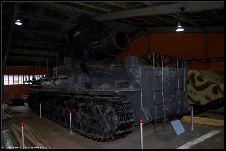 photos from Military-historical museum of  armored vehicles and armament of Main auto-tank directorate of Defense ministry of Russian Federation 19