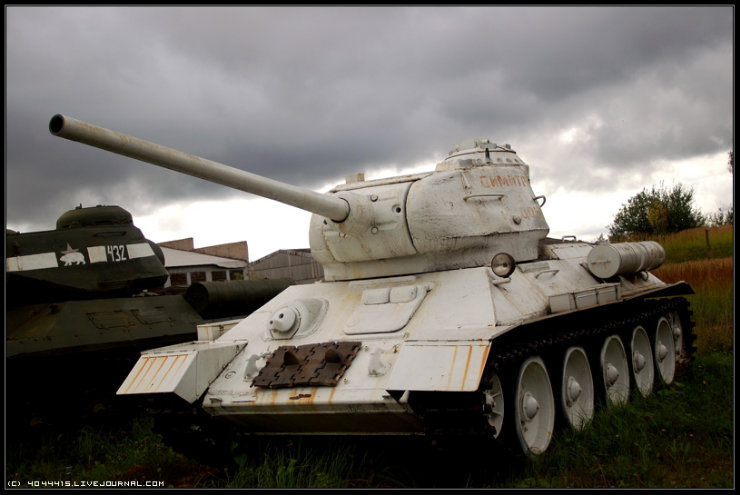 photos from Military-historical museum of  armored vehicles and armament of Main auto-tank directorate of Defense ministry of Russian Federation 2