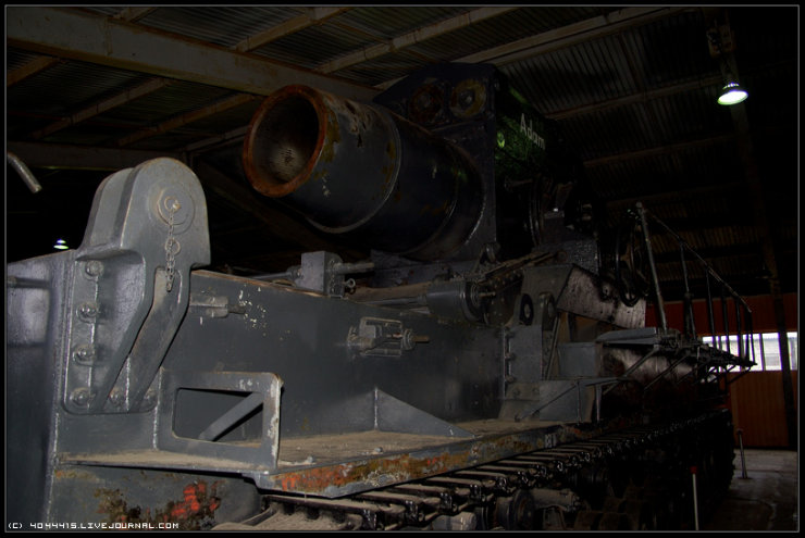 photos from Military-historical museum of  armored vehicles and armament of Main auto-tank directorate of Defense ministry of Russian Federation 20
