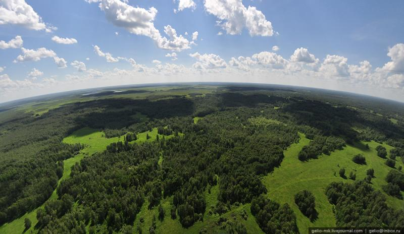 Nature of the Novosibirsk Region From Above 14