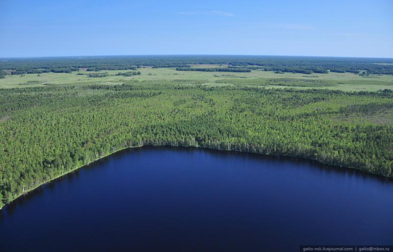 Nature of the Novosibirsk Region From Above 17