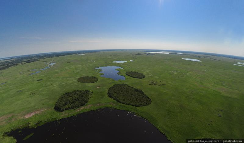 Nature of the Novosibirsk Region From Above 19