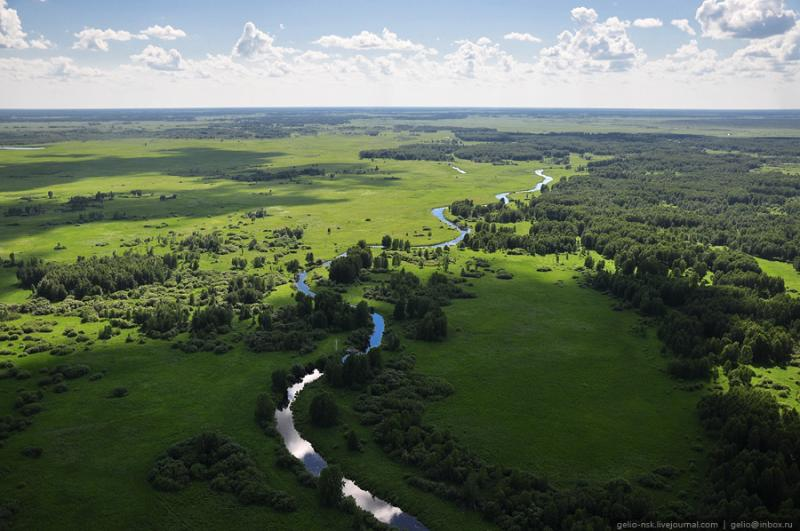 Nature of the Novosibirsk Region From Above 26
