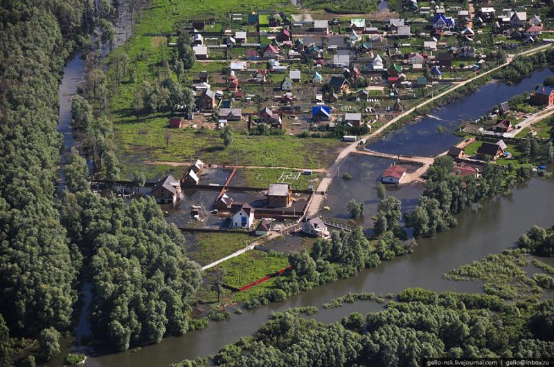 Nature of the Novosibirsk Region From Above 3