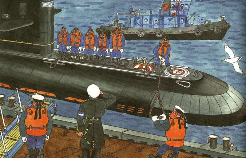 Russian navy comics 25