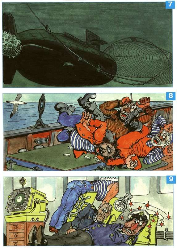 Russian navy comics 38