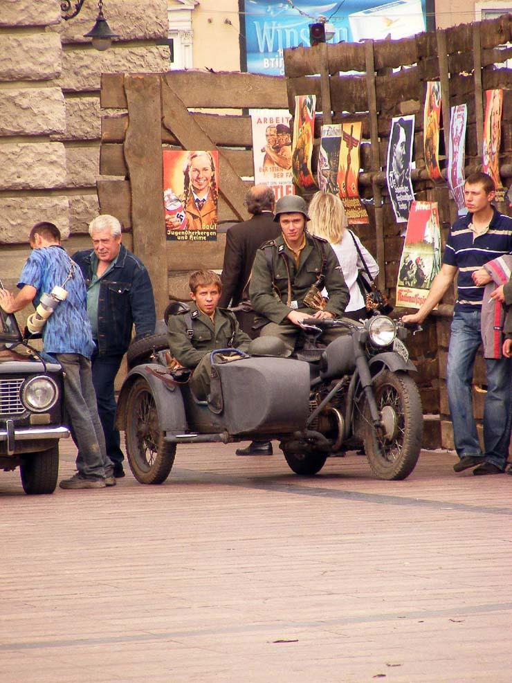 Nazi Flags in Kharkov 12