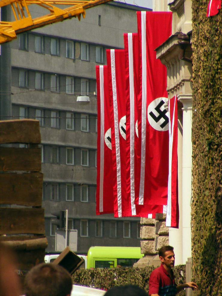 Nazi Flags in Kharkov 32