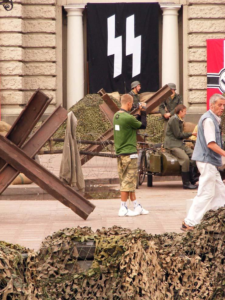 Nazi Flags in Kharkov 9
