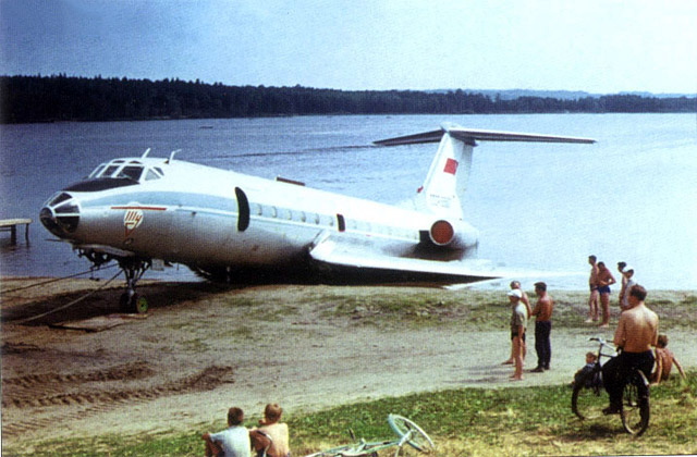 Water Landing in Russia 6