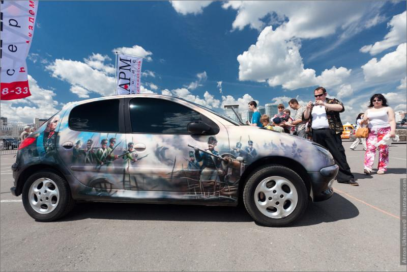 Russian Painted Cars 18