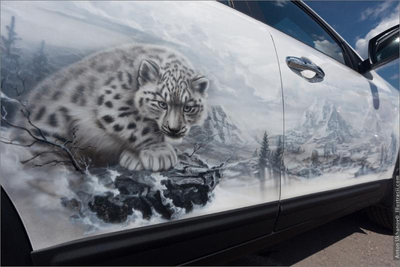 Russian Painted Cars 20