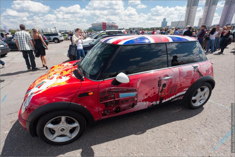 Russian Painted Cars 29