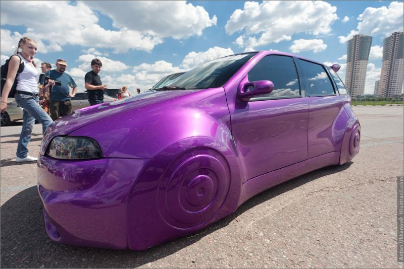 Russian Painted Cars 34