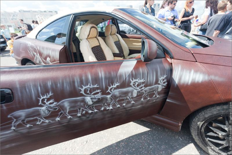 Russian Painted Cars 38