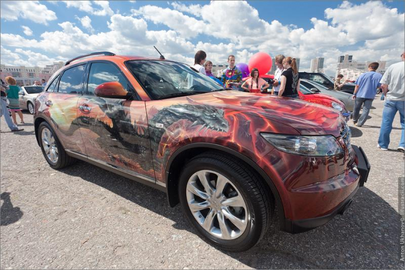 Russian Painted Cars 44