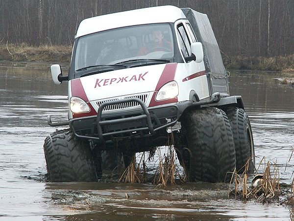 New Russian ambulance car 1