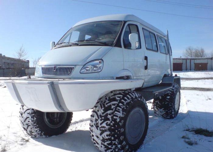 New Russian ambulance car 12