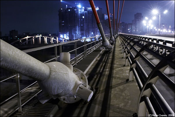 Bridge in Moscow, Russia 9