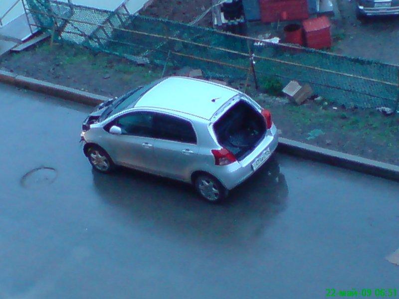 Russian car thieves