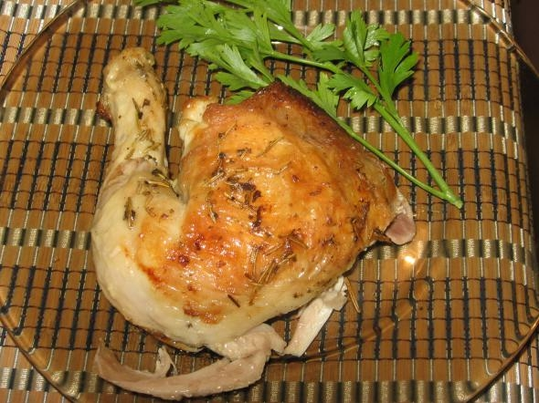 A Cute Baked Chicken