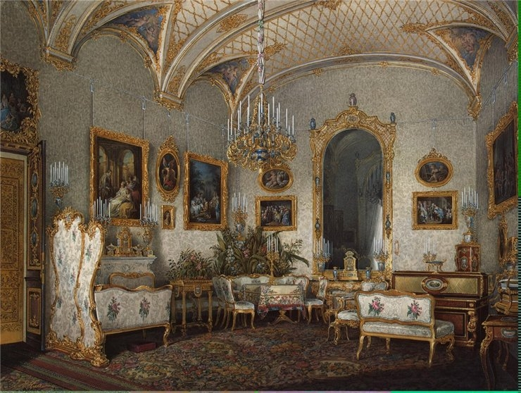 Tsars Palaces In Paintings