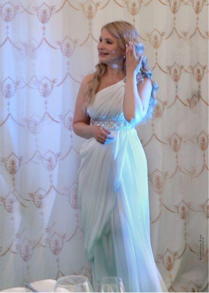 Yulia Timoshenko Playing a Nymph