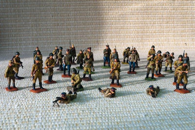 Amazing Plasticine Soldiers